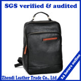 China Custom Durable Vintage Mens Leather Backpack for Laptop (6624)