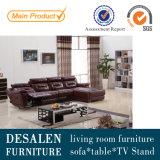 L Shape Modern Leather Recliner Sofa (968)