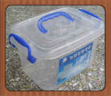 China Small Multipurpose Household Plastic Storage Box with Handle Supplier