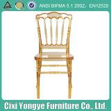 Amber Resin Plastic Napoleon Chair for Weddings