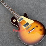 Pango Lp Standard Electric Guitar with Flame Maple Top (PLP-050)