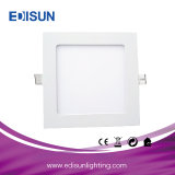 Ce/RoHS 9W Round/Square Ceiling LED Panel Light for Indoor