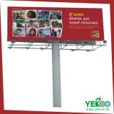 Free Stand Steel Sturcture Front-Lit LED Light Outdoor Billboard