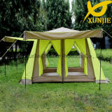 Family Double Layer Tent Heavy Rainproof Automatic Tent