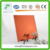 1.5mm-6mm Orange Red Tinted Fashional Mirror