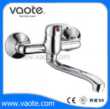 Zinc Handle Single Lever Wall Sink Faucet /Mixer (VT10102)
