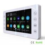 Memory 7 Inches Luxury Home Security Interphone Video Door Phone Intercom