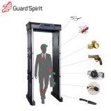 LED / LCD Screen 18 Zones 255 Degree Military Security Walk Through Metal Detector