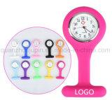 OEM Hot Sale Colorful Silicone Brooch Nurse Watch