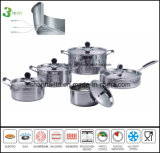 Hammer Finish Cookware Tri-Ply Body Steel All Clad Cookware