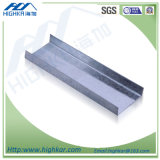 Drywall Galvanized Metal Supplier U Profile Steel for Ceiling