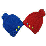 China Supplier Wholesale Cheap 100% Acrylic Lovely Baby Knit Hat Winter Warm Beanie