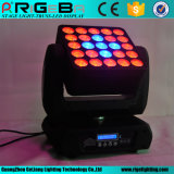 Stage Light 25LEDs 12W RGBW 4in1 Indoor Matrix Moving Head Light