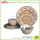 USA Market Best Selling Melamine Dinner Set