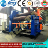 W12-20*3000 Hydraulic 4 Roller Plate Rolling Machine Drawing 20mm Plate Thickness