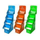 Advertising Paper Full Color Exhibition Pop Cardboard Display Rack