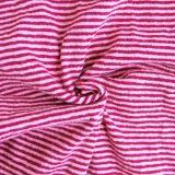 Hemp Yarn-Dyed Knitting Fabric (QF13-0348)
