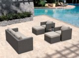 Patio Garden Sofa Rattan Wicker Dakota Lounge Set Outdoor Furniture (J660)