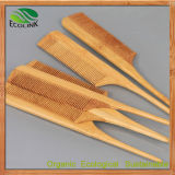 100% Natural Bamboo Massage Hair Comb for Daily Use (EB-B4216)