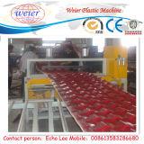 880mm PVC Plastic Glazed Roof Tiles Making Machine