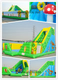 Inflatable Slide with Jungle Theme