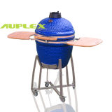 "Top-Ranking 23.5"" Blue Chinese Ceramic BBQ Oven (GHX-23)"