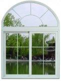 Soundproof White / Blue Sliding Aluminum Frame Windows with Roto
