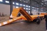 6 Axle Gooseneck Lowbed Equipment Semi Trailer with Ramps (JHP9401TDP)