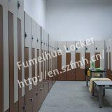 Z Shape Door Swimming Pool Locker/ HPL Compact Laminate Locker
