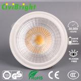 Ce RoHS 5W GU10 White COB LED Spotlight
