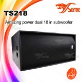 "Ts218 Night Club Dual 18"" Professional Speakers Subwoofer Box"