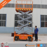 6m Hot-Sale Movable Aerial Man Trailer Scissor Hydraulic Lift Table