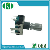 Factory Direct Sale 12mm Rotary Encoder with Metal Shaft