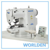 WD-438G Direct Drive Lockstitch Electronic Button Attaching Machine