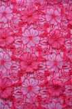 New Design 3D Embroidery Lace Fabric for Lady's Dressing and Home Textile