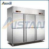 Gd6 6 Door Commercial Kitchen Freezer and Chiller
