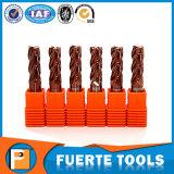 HRC 60 Solid Carbide End Milling Cutter 4 Flutes