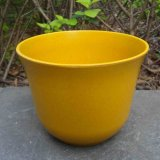 Eco-Friendly Bamboo Fiber Flower Pots and Colorful Planter Pot (BC-FP1008)