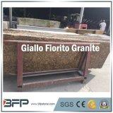 Honed / Polished Giallo Fiorito Granite Countertops Slab
