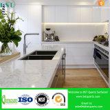 Double Sinks Artificial Quartz Kitchen Countertop