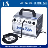 As179 Silent Mini Airbrush Compressor with Tank Inside for Cake Craft