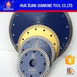 Diamond Continuous Rim Turbo Granite Blades