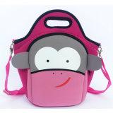 Cartoon Cow Lovely Children Kids Neoprene Bag Backpack Light Weight Waterproof