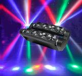 New Products on China Market 8PCS 10W White Sharpy LED Spider Beam Moving Head Light/LED Moving Head