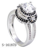 Sterling Silver & CZ Rings Diamond Jewelry Engagement Rings