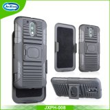 Slim Ultra Thin Kickstand Belt Clip Sliding Shell Holster Phone Case for Moto G4/G4 Plus