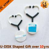 PVC Gift Custom Doctor Medical Stethoscope Smart USB Pendrive (YT-S)