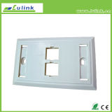 High Quality Wall Socket 120 Double Port Faceplate for Sale