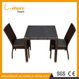 New Design High Standard PE Rattan Garden Patio Furniture Hotel Chair Table Set