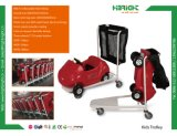 Kids Trolley Cart with Black Mesh Bag
